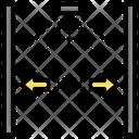 Nozzle Distance Line Texture Icon