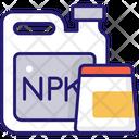 Npk Compost Fertilizer Icon