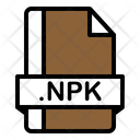 Npk File Zix File File Format Icon