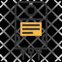 Npn Transistor Electric Icon