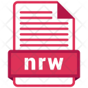 Nrw File Formats Icon
