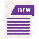 Nrw Format File Icon