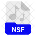 Nsf File Format Icon