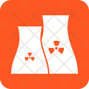Nuclear Plant Radioactive Icon