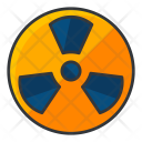 Danger Radiation Nuclear Icon