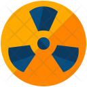 Nuclear Sign Symbol Icon