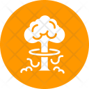 Nuclear Bomb Explosion Icon