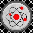 Nuclear Molecule Model Icon