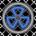Nuclear Radioactive Fan Icon