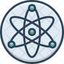Nuclear Energy Atomic Icon