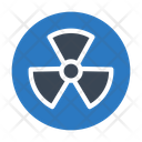 Nuclear Power Radiation Icon