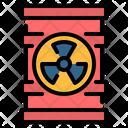 Nuclear Radioactive Barrel Icon