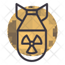 Nuclear Bomb Radioactive Icon