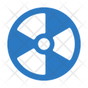 Nuclear Radiation Danger Icon