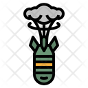 Nuclear Bomb Atomic Icon