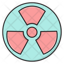 Nuclear Radiation Atomic Icon