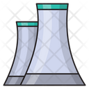 Nuclear Plant Energy Icon