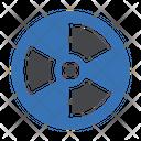 Nuclear Radioactive Radiation Icon