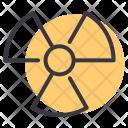 Nuclear Radiation Warning Icon