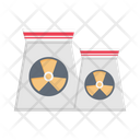 Nuclear Radioactive Power Icon