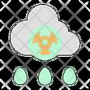 Nuclear Science Acid Rain Icon