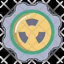 Nuclear Radiation Nuclear Power Icon