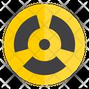 Nuclear Power Energy Icon