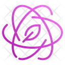 Nuclear Ecology Nature Icon