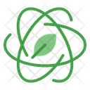 Nuclear Plant Green Icon