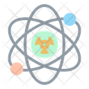 Atom Nuclear Science Icon