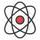 Nuclear Atom Icon