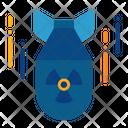 Bomb Radioactive War Icon