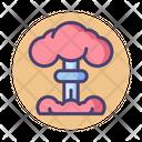 Nuclear Bomb Mushroom Cloud Blast Icon