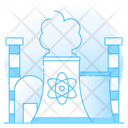 Nuclear Energy Factory Unit Nuclear Factory Icon