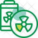 Nuclear Energy Power Icon
