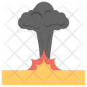Nuclear Explosion Mushroom Cloud Atomic Blast Icon