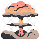 Nuclear Explosion Radiation Icon