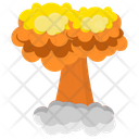 Nuclear Explosion Chemical Explosion Nuclear Bomb Icon