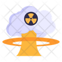 Nuclear Explosion Nuclear Environment Atomic Explosion Icon