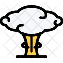 Nuclear Explosion Army Icon