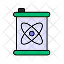 Nuclear Fuel Nuclear Waste Nuclear Pollution Icon