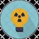 Nuclear Light Bulb Nuclear Radiation Icon