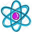 Nuclear Technology Nuclear Atom Eco Science Icon