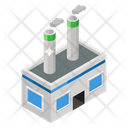 Nuclear Plant Power Plant Cooling Tower Icon
