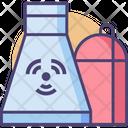 Nuclear Plant Nuclear Nuclear Energy Icon