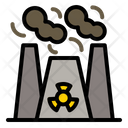 Nuclear Radioactive Radiation Icon