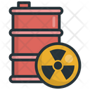 Gas Nuclear Pollution Icon