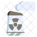 Nuclear Industry Electricity Icon