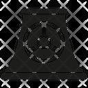 Nuclear Power Plant Nuclear Reactor Nuclear Icon