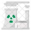 Nuclear Power Plant Nuclear Power Icon